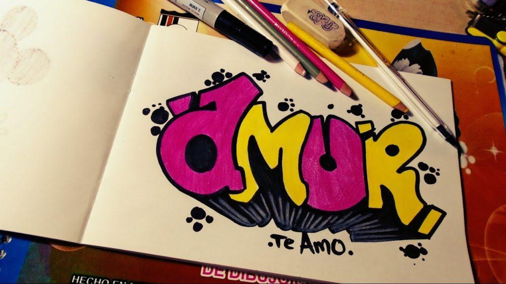 graffitis de amor y letras