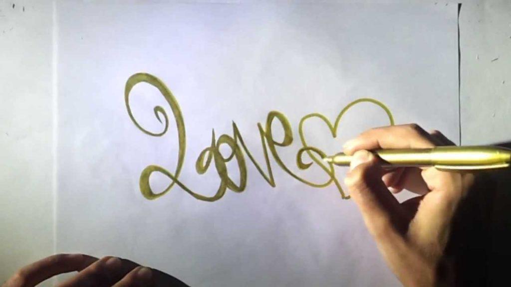 letra de graffiti de amor