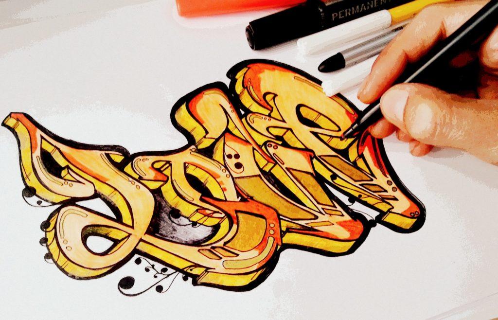 graffitis de amor para dibujar a lapiz faciles