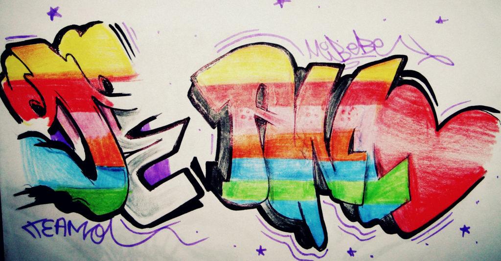 graffitis de amor a lapiz para descargar