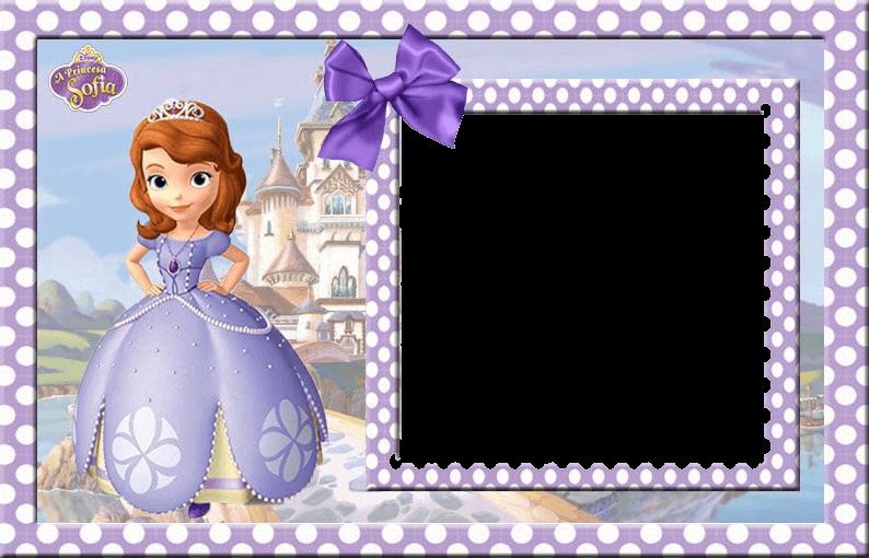 marcos de princesa sofia para cumpleaños
