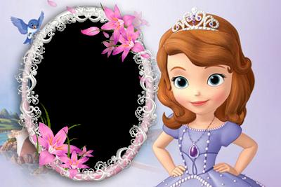 marcos de princesa sofia para fotos online