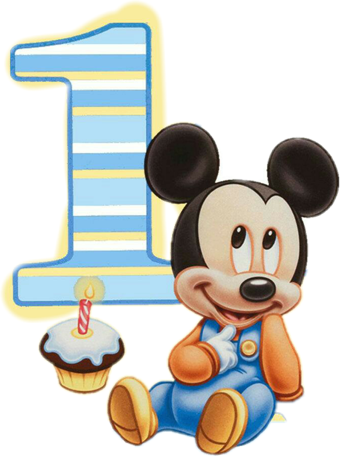 marcos mickey bebe png