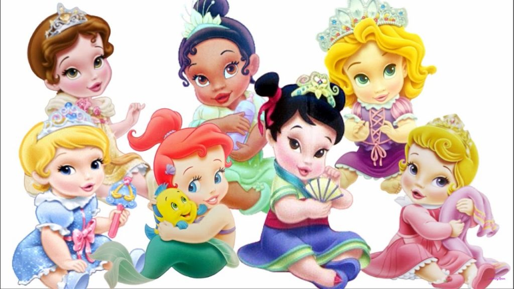 princesas disney anime