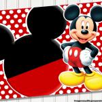 Fondos de tarjetas de Mickey Mouse