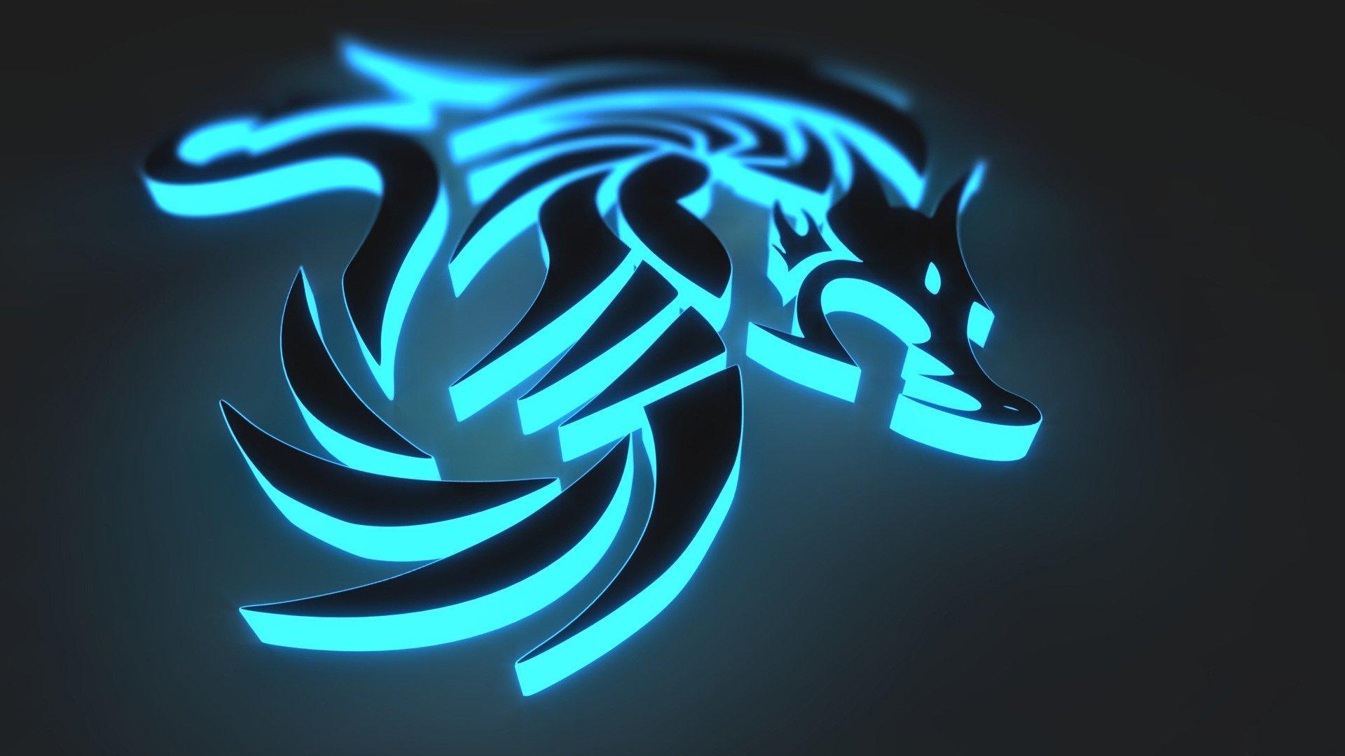 Recracion de Lobo en 3D
