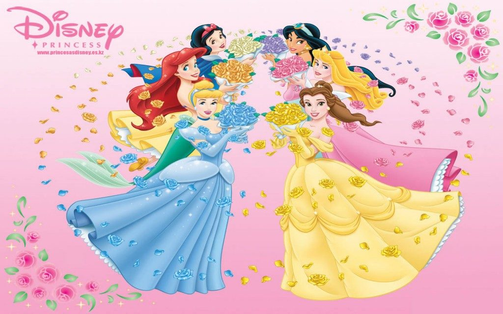 Fondos de pantalla princesas Disney para Tablet