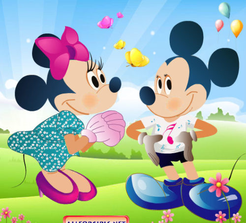 Imagen para enviar Mickey Mouse