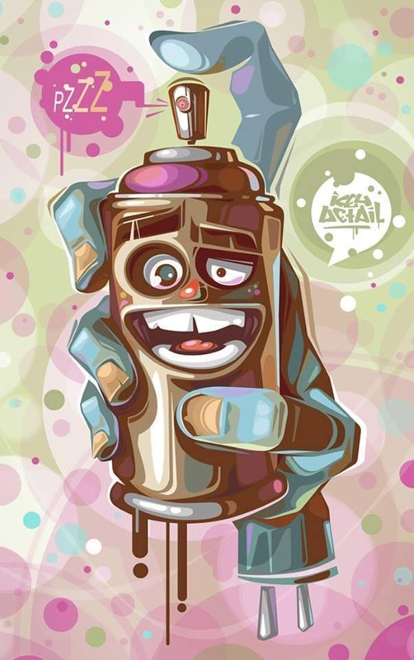 Imagen de lata de pintura para celular