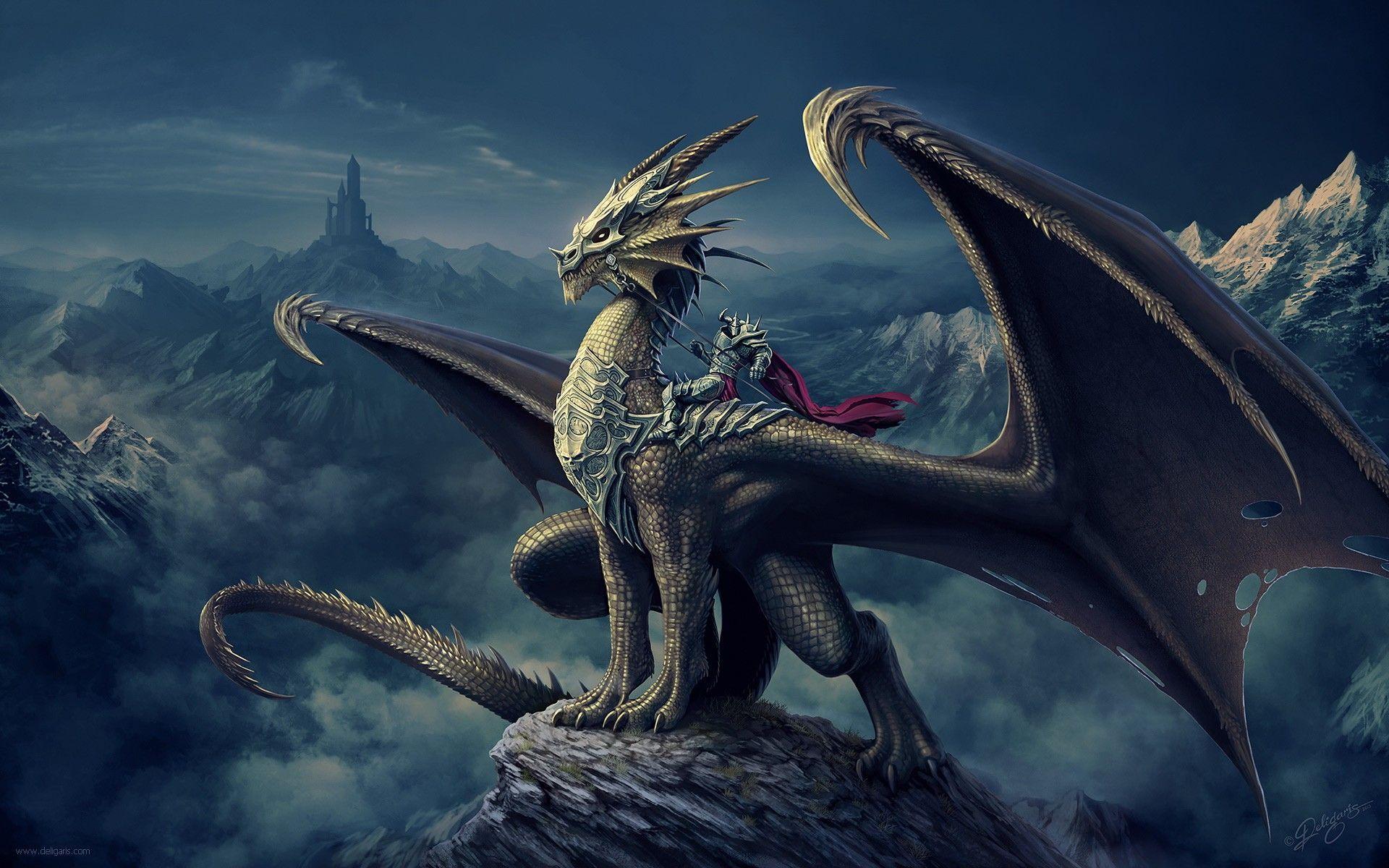 Fondo de dragon