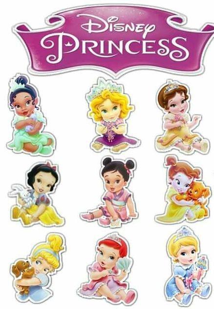 Princesas de Disney para cumpleaños