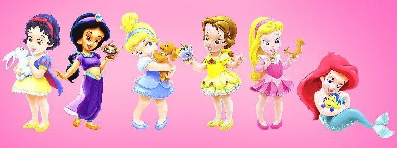 Coleccion de princesas de Disney para cumpleaños