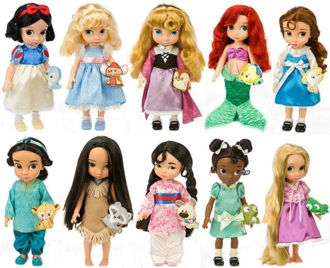 Muñecas de princesas
