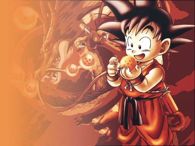 Goku en pequeño