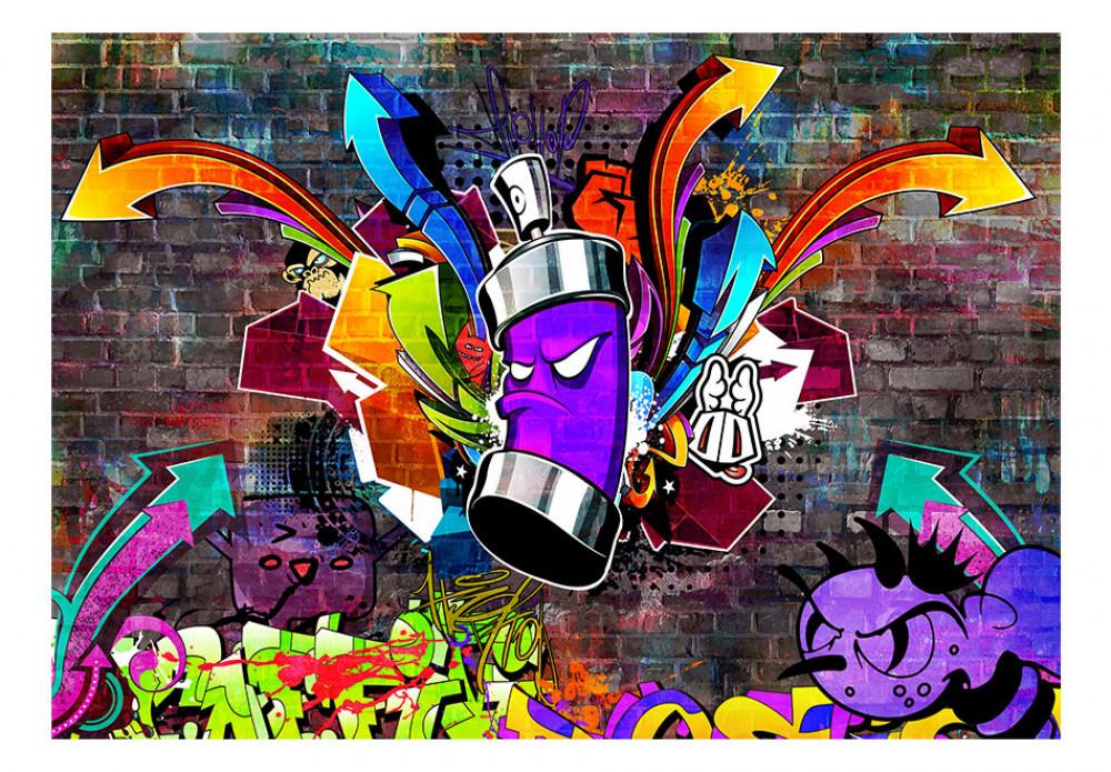 Imagen de pantalla Grafitti morado y más