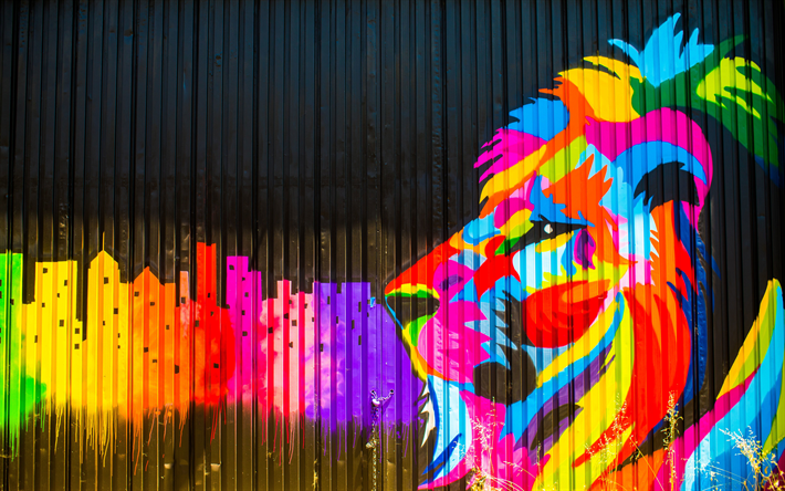 Imagen de colores Graffiti