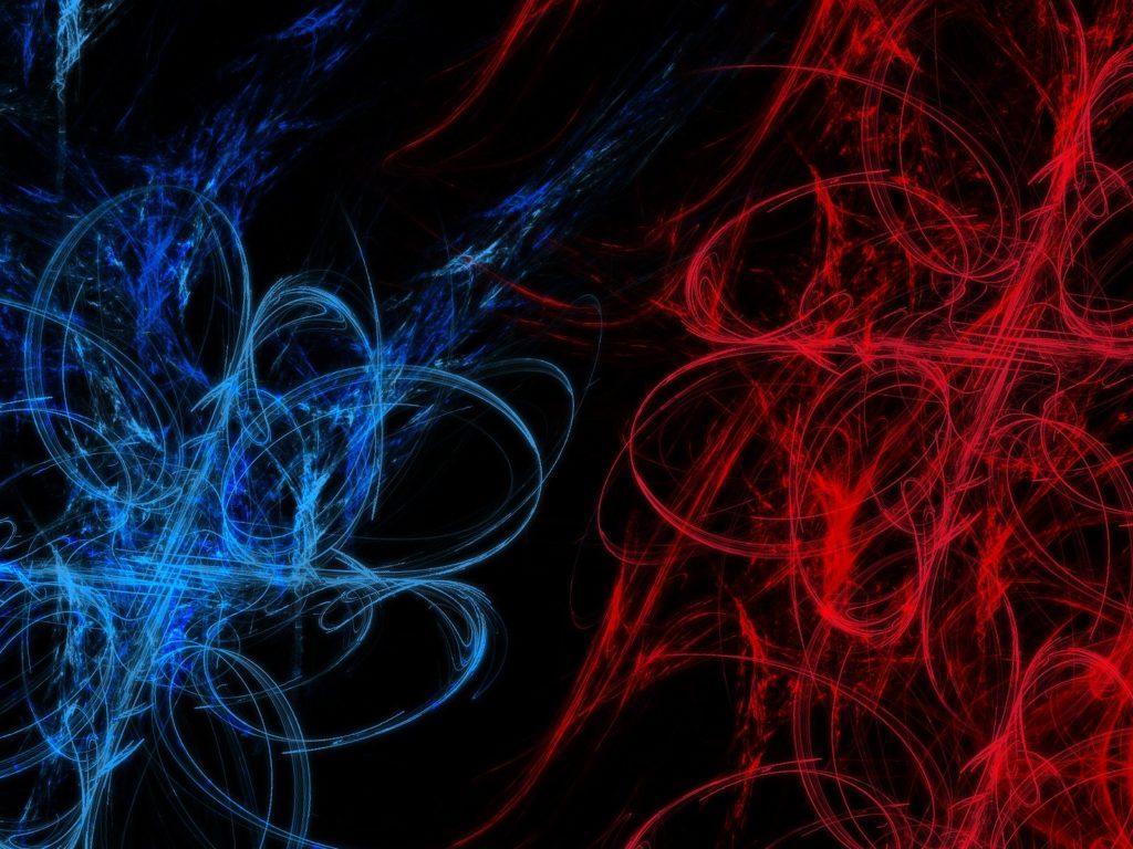 fondo azul y rojo hd