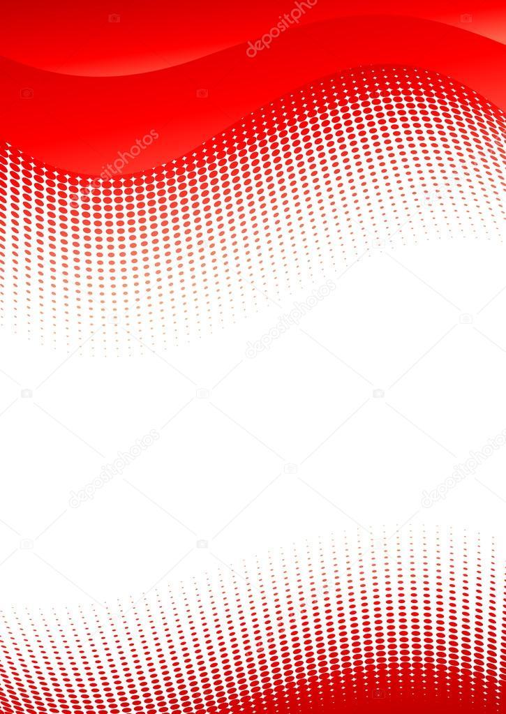 fondo rojo vector abstracto