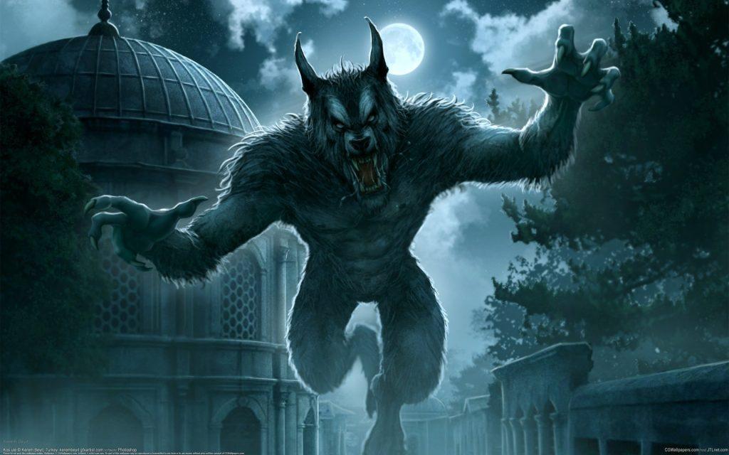imágenes de hombres lobos para fondo de pantalla