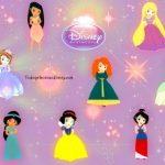 Fondo de pantalla princesas disney bebes
