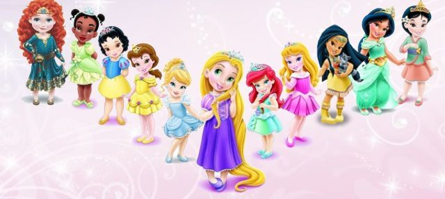 Coleccion de las mejores princesas animadas