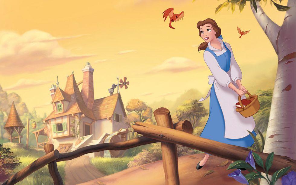 Bella, una de las princesas mas vistas