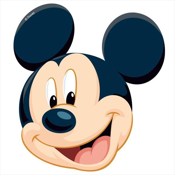 cara mickey mouse png