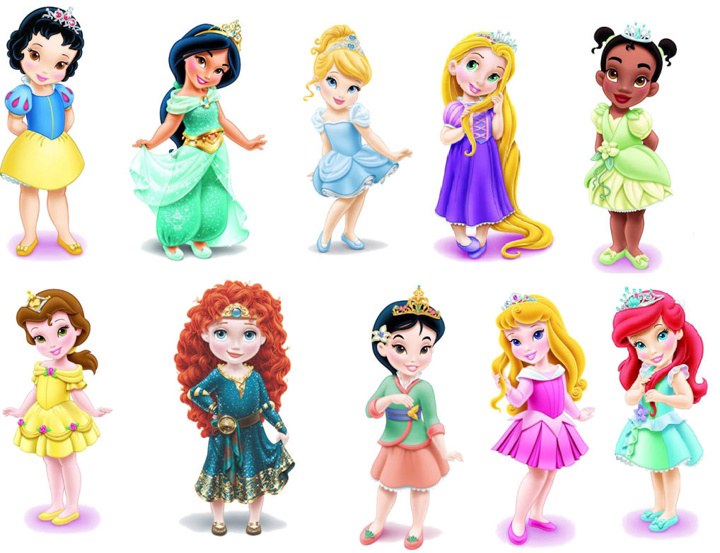 Imagenes de princesas de Disney sin fondo