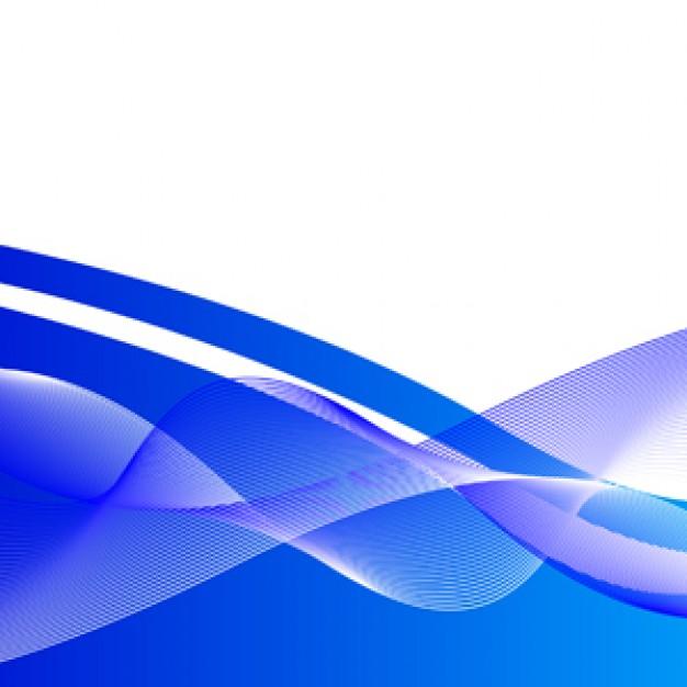 fondo azul vector curvas