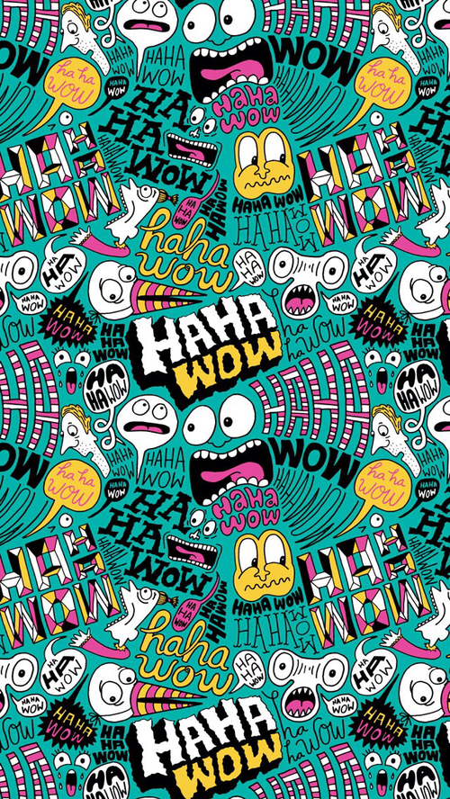 Wallpaper para celular de graffiti