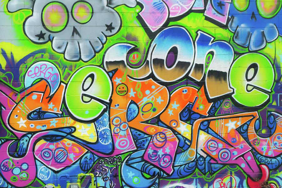 Imagen de Letras coloridas Graffti