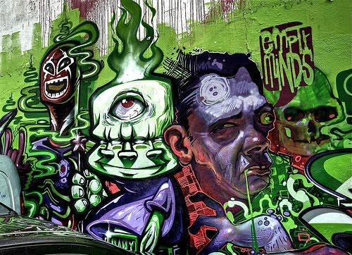 Ideas parafondos de graffitis
