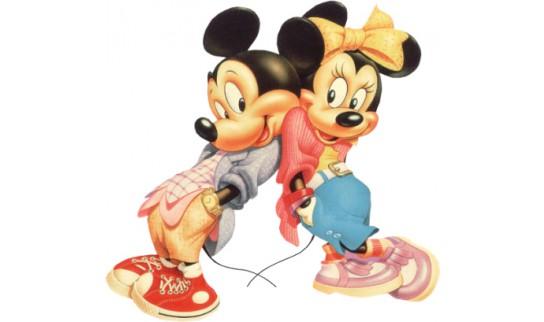 imagenes de mickey mouse y mimi con movimiento