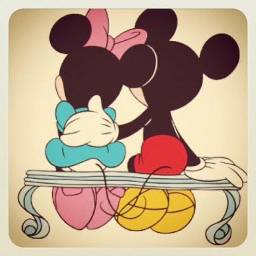 imagenes de mickey mouse y mimi para colorear