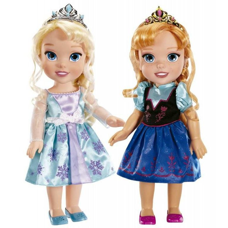 Hermosas muñecas en bebe de Disney