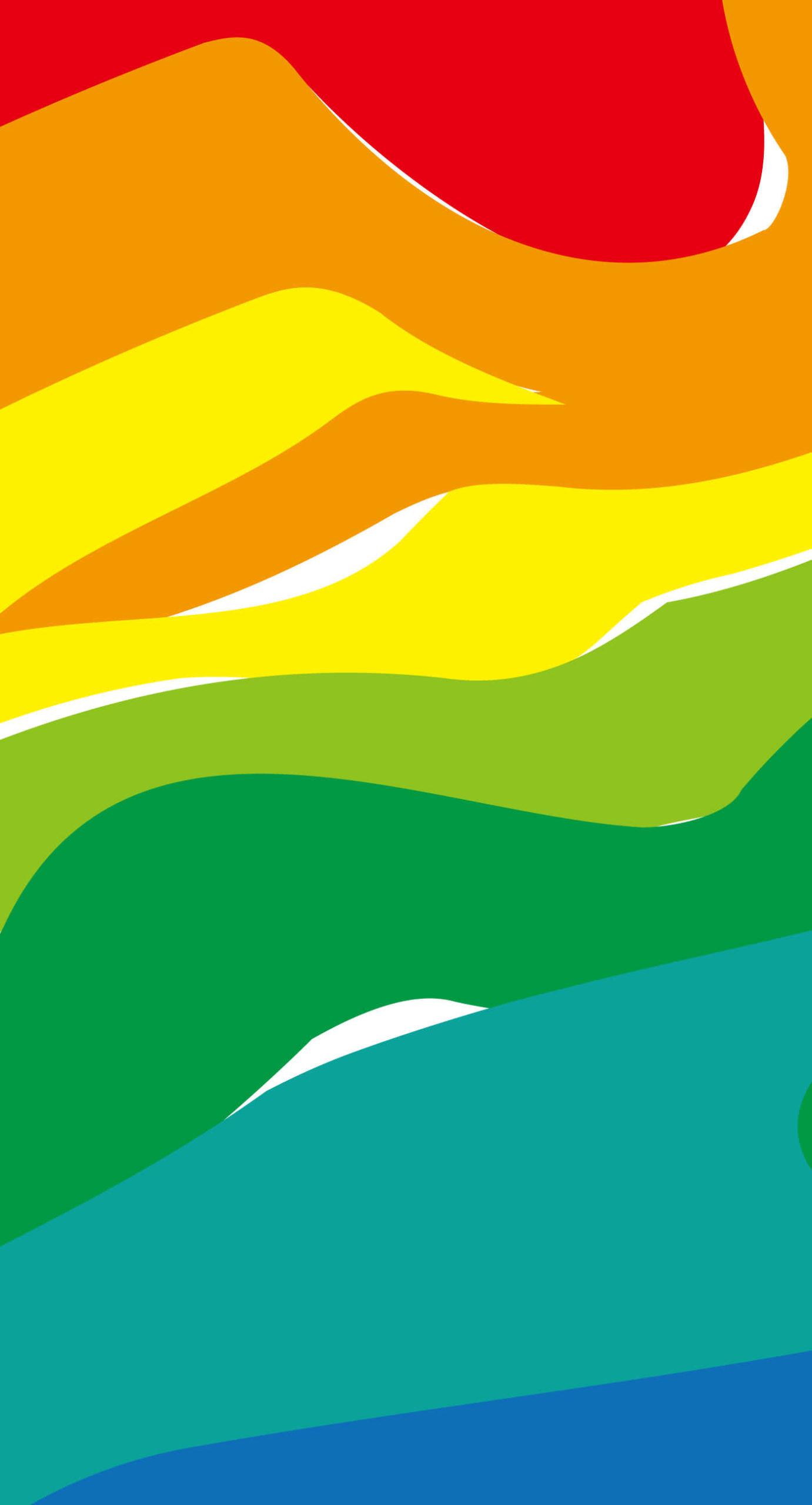 Imagen colorida verde y amarillo