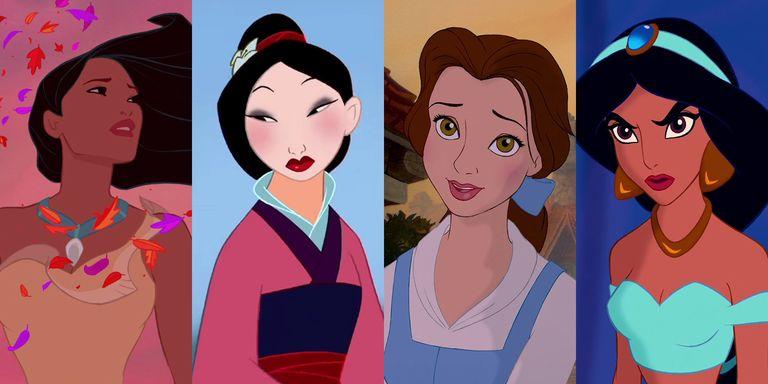 Princesas de Disney mas vistas