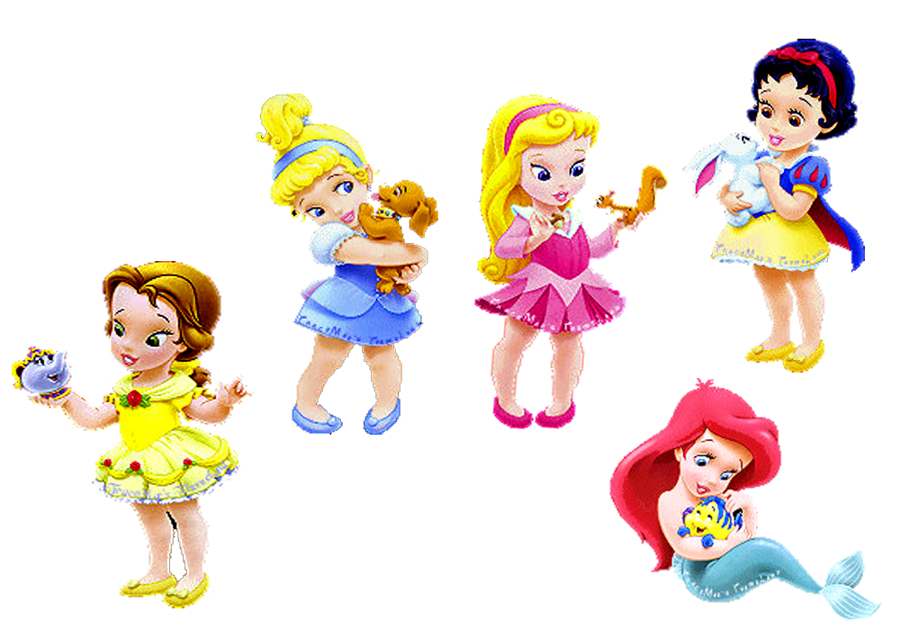 Princesas bebés de Disney en .png
