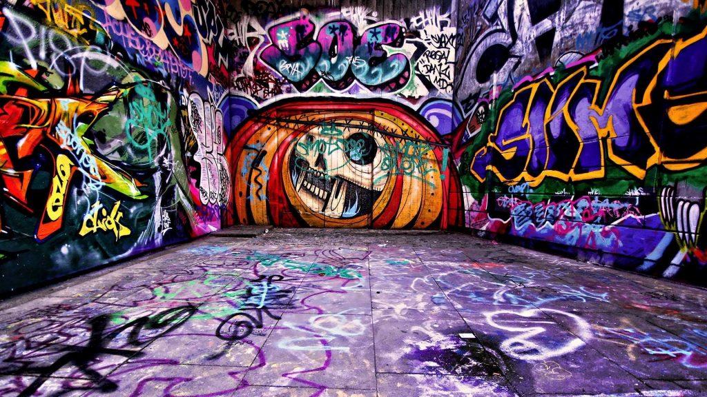 fondos de graffitis para fotos