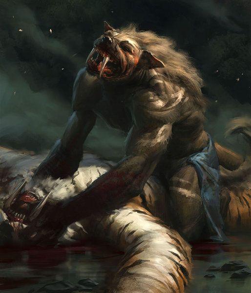 Fondos de pantalla de hombres lobos y vampiros