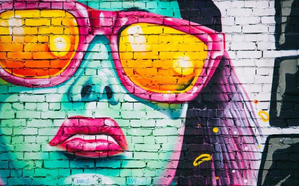 fondos de graffitis para twitter