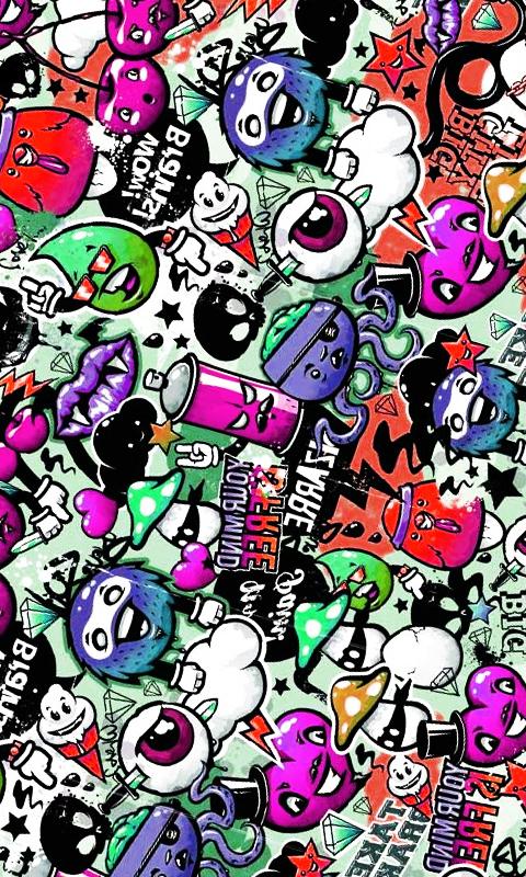 fondos de graffiti para celular