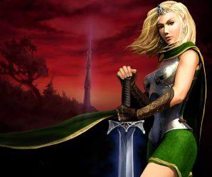 Fondos de pantalla princesas guerreras