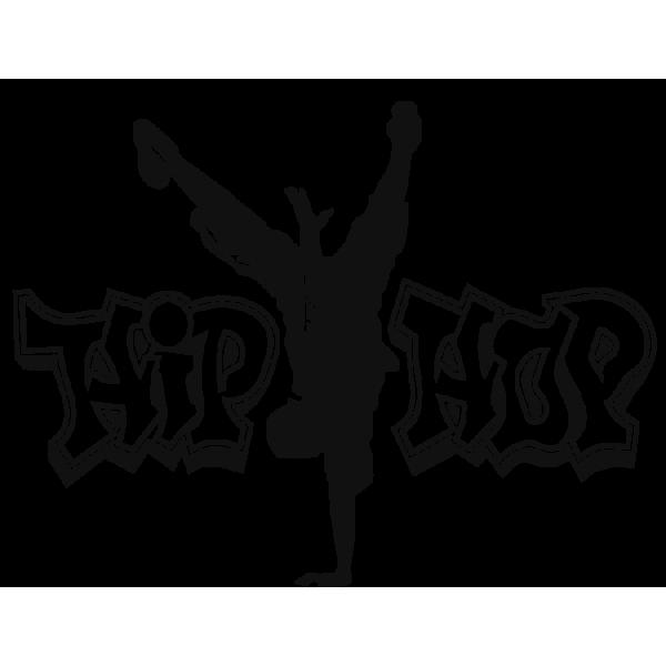 Imagen para dibujar Vinilo Hip Hop