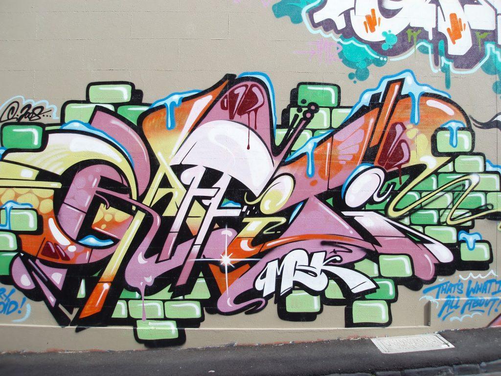 Fondos de graffitis para dibujar