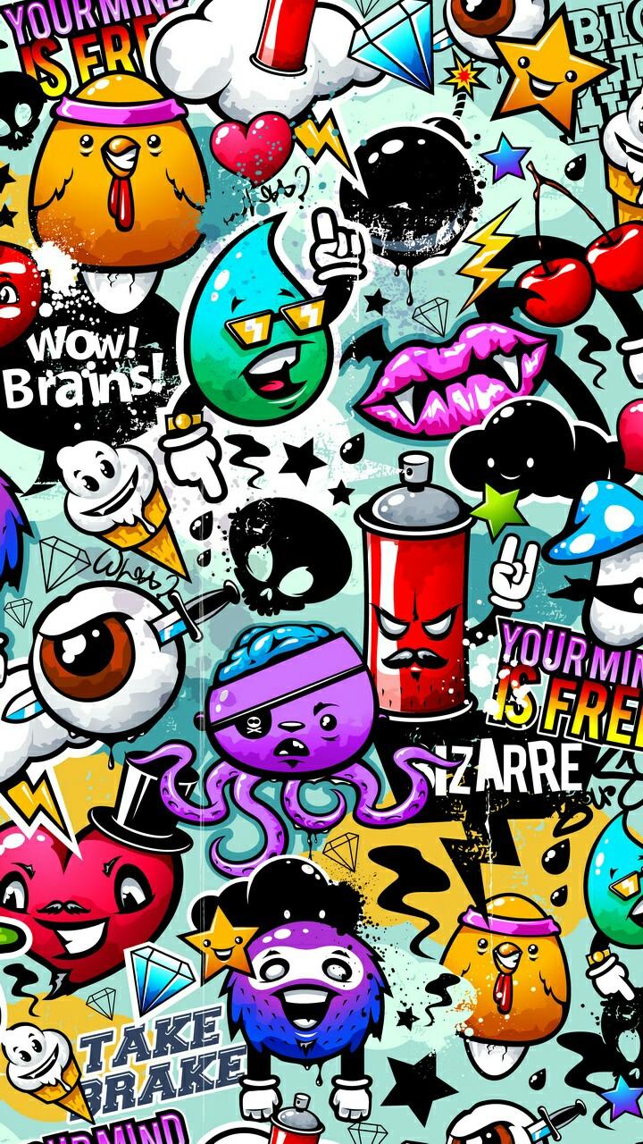 Image Result For Gambar Grafiti Punk Full Hd