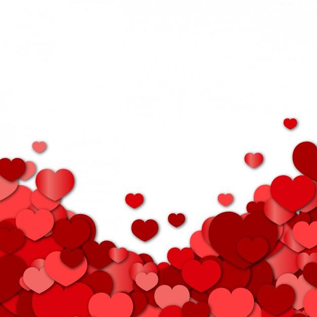 fondos de corazones rojos para fotos
