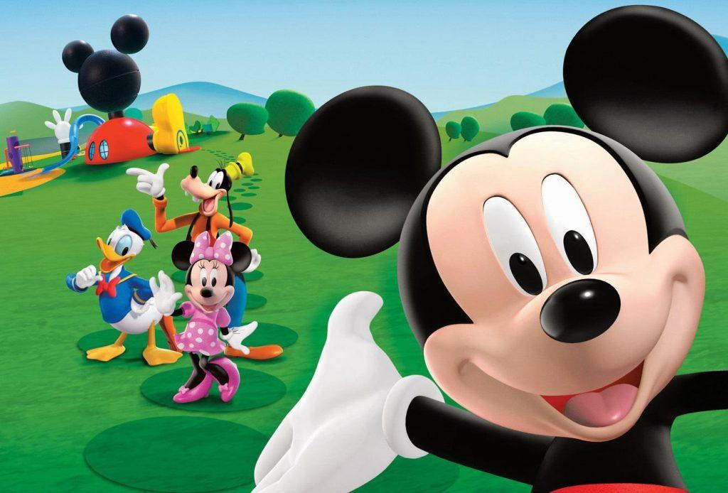 Fondos para Google Chrome de Mickey Mouse