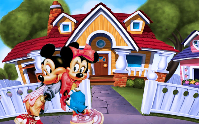 Fondos para Google Chrome de Mickey Mouse