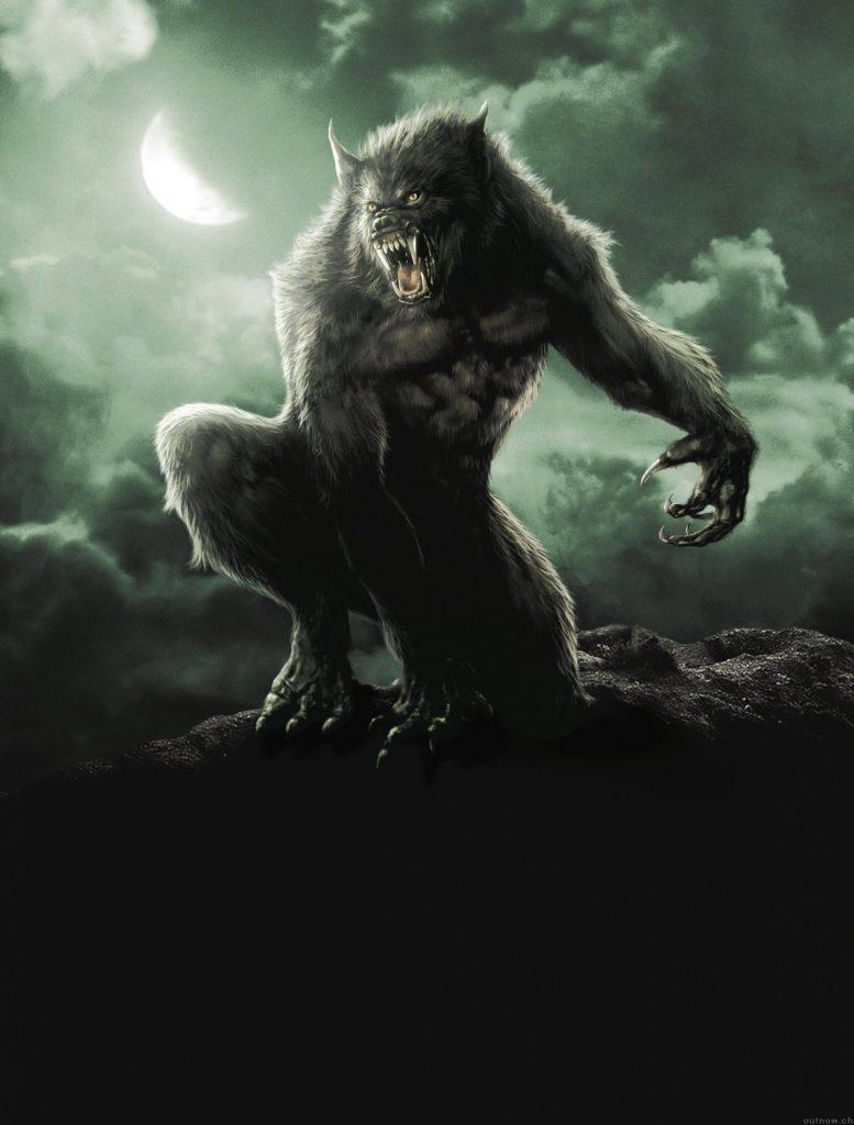 Fondos animados de hombres lobo